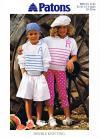 Childs Shirt Sweater Knitting Pattern, 20-30